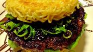 Ramen Burger headed to Los Angeles area on Saturday