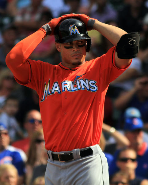 Giancarlo Stanton: Young Boy Hit By Marlin Giancarlo Stanton's Bat At Wrigley
