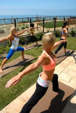 Terranea Resort in Rancho Palos Verdes invites yoga fans to a free outdoor class on Sept. 29.