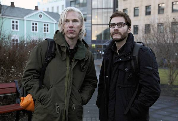 """Benedict Cumberbatch and Daniel Bruhl star in """"The Fifth Estate."""""""