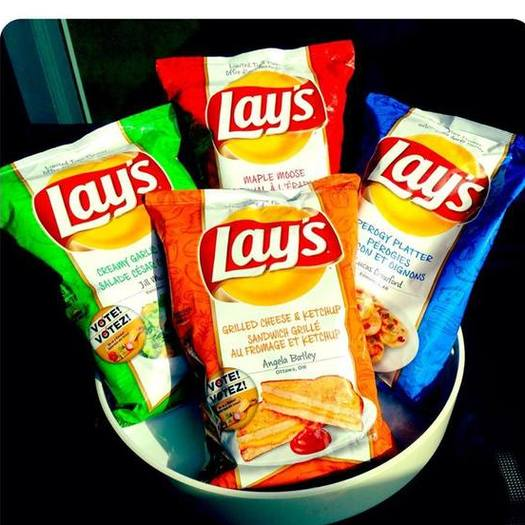Lay's Canada chip flavors