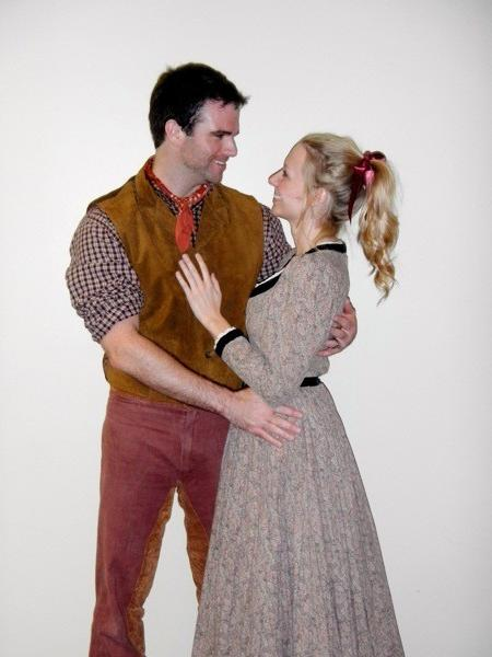 "Wes Catlett-Miller is Curly, and Cassidy Tompkins is Laurey in ""Oklahoma!"""