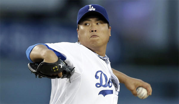Dodgers left-hander Hyun-Jin Ryu will miss his next scheduled start against the Cincinnati Reds on Friday because of stiffness in the middle of his back.