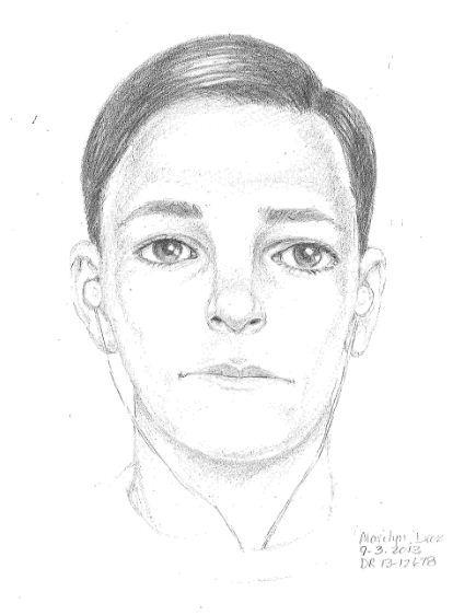 A Huntington Beach Police sketch of a suspect who attempted to sexually assault a female jogger in August.