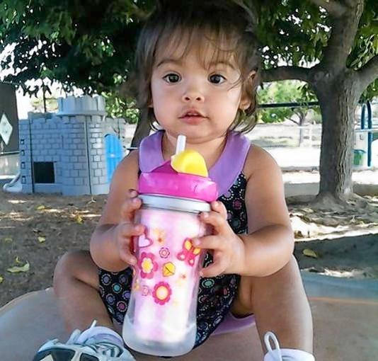 This photo of Vyctorya Sandoval was taken shortly before her reunification with her parents in September 2010. Her father pleaded no contest to second-degree murder in her beating; her mother pleaded no contest to child abuse.