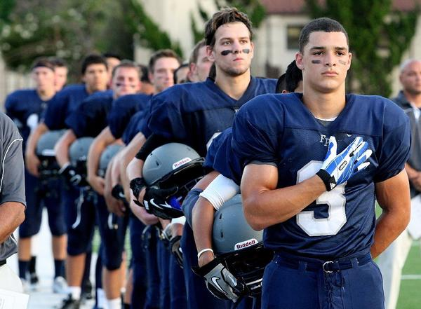 The Flintridge Prep football team looks to pick up its first win of the 2013 season on the road at Meadows of Nevada.