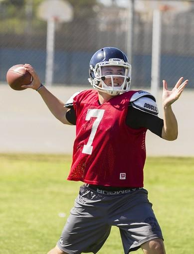 Cole Norris, a junior who earned first-team All-Sunset League honors, returns as Newport Harbor High's starting quarterback.