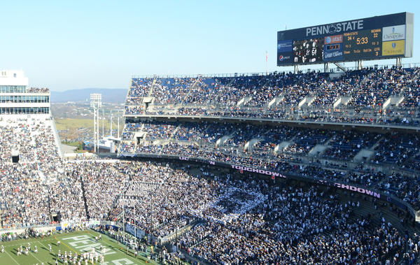 Seats at Beaver Stadium are going unsold at a more worrisome rate than at other top programs.