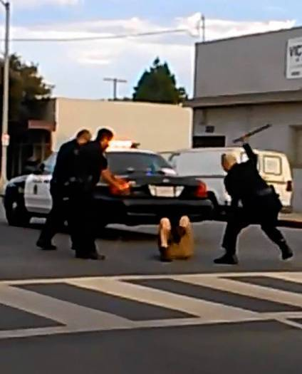 A video posted to YouTube showing Long Beach police repeatedly using a Taser and baton on a man has prompted an internal investigation amid questions about the officers' use of force.
