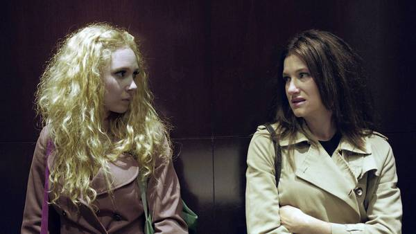 "Juno Temple and Kathryn Hahn in the comedy ""Afternoon Delight."""