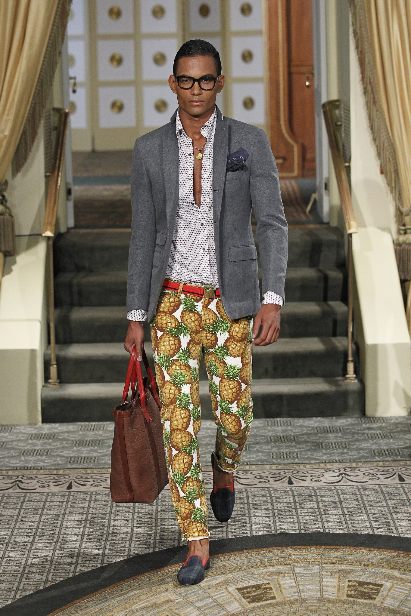 New York Fashion Week Spring Summer 2014 Michael Bastian La Times