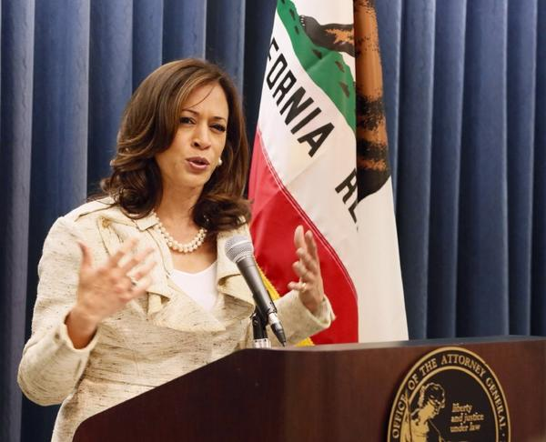 California Atty. Gen. Kamala Harris didn't like Proposition 8 and has no love for Proposition 209 either.