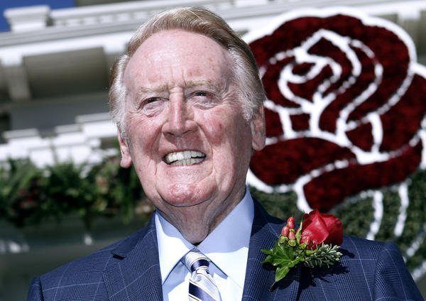Veteran Dodgers broadcaster Vin Scully was revealed as the Grand Marshal for the 2014 Tournament of Roses Parade during brief ceremony at the Tournament House in Pasadena on Thursday, Sept. 5, 2013.