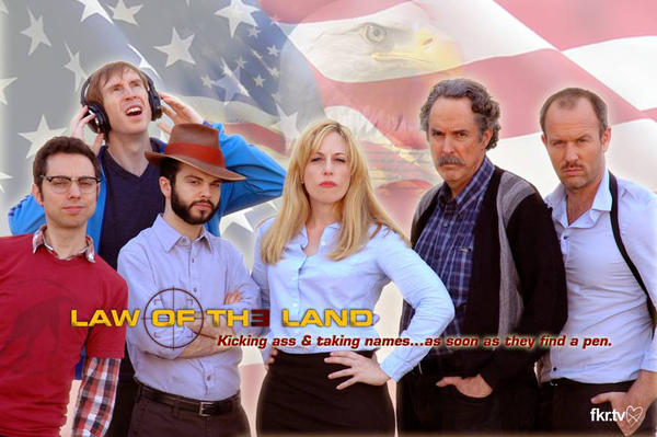 """Law of the Land"" is a new espionage spoof series streaming on FKR.TV, which was co-founded by David Cross and Syd Butler"