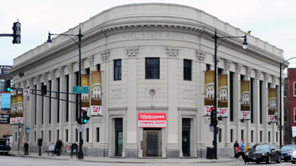 Walgreens flagship at the corner of North and Damen avenues in Bucktown/Wicker Park before it opened last year.