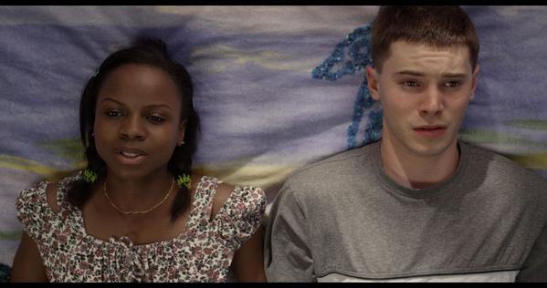 """Shareeka Epps and Tyler Ross in """"American Milkshake."""""""