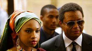 Jennifer Hudson tackles 'intimidating' role of Winnie Mandela
