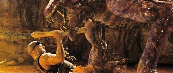 "Vin Diesel reprises his role as the antihero Riddick in ""Riddick."""