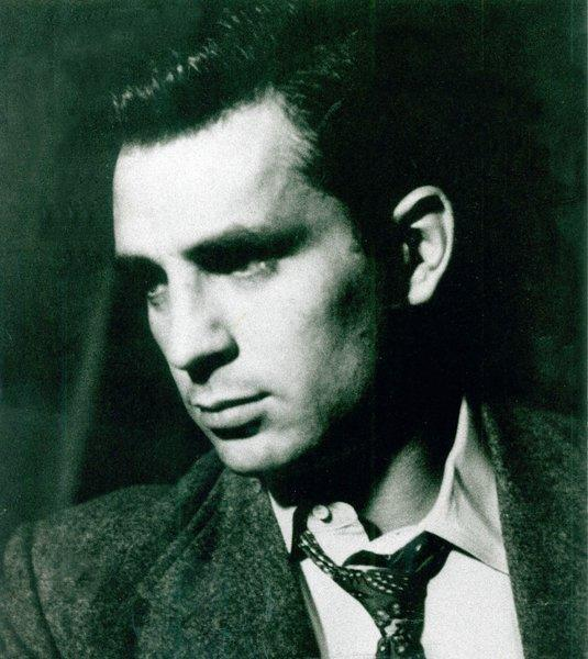 Novelist and poet Jack Kerouac.