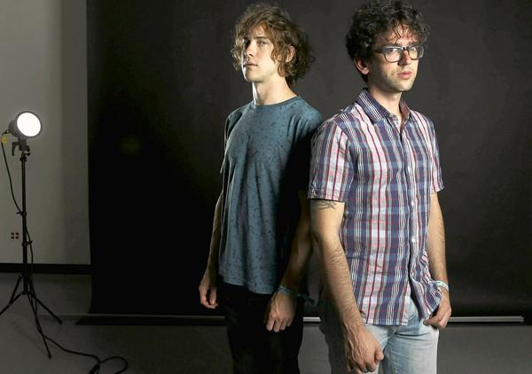 A new MGMT album by Andrew VanWyngarden, left, and Benjamin Goldwasser was marked by long jam sessions and recordings.