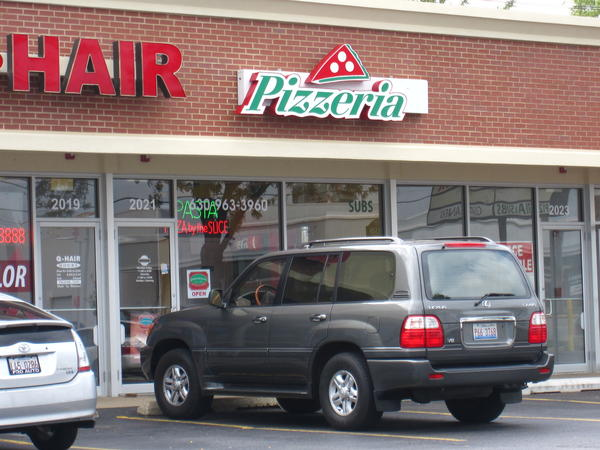 "Giordano's is suing a pizzeria at 2021 W. Ogden Ave. in Downers Grove, accusing the small restaurant of trademark infringement by naming their restaurant Giordano Fresh & Crispy Pizza Co. The sign outside on Thursday reads ""Pizzeria."""