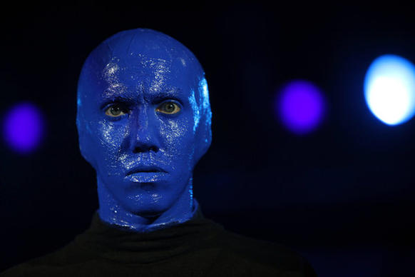 "Blue Man Group will perform for the first time at the Hollywood Bowl, where the trio has been invited to ""go crazy."""