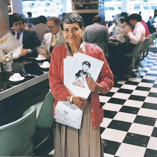 Eadie Levy worked at her sons' restaurants for years. She was working at Fulton's on the River downtown up until recently.