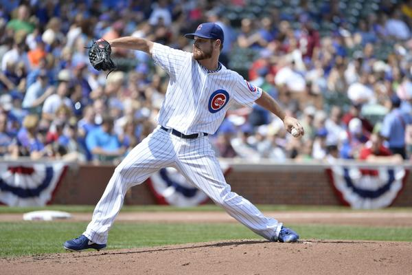 Cubs starter Travis Wood.