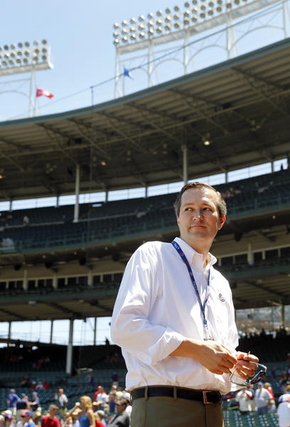 Cubs owner Tom Ricketts before a game in July.