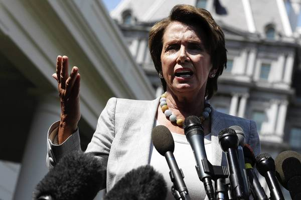 House Minority Leader Nancy Pelosi (D-San Francisco) is trying to persuade fellow Democrats to support President Obama's plan for military action in Syria.