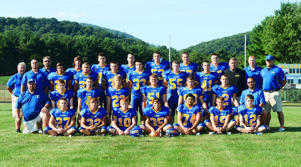2013 Clear Spring football team