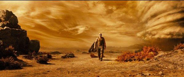 """Vin Diesel's """"Riddick"""" is expected to finish first this weekend."""