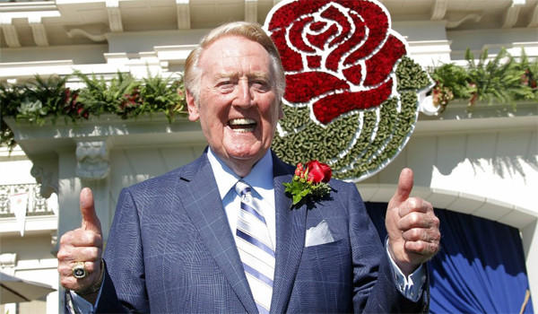 Legendary Dodgers play-by-play broadcaster Vin Scully will be the grand marshal of the 2014 Rose Parade in Pasadena.