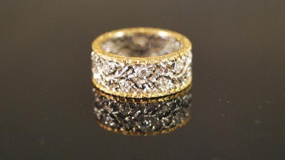 A Buccellati eternity ring.