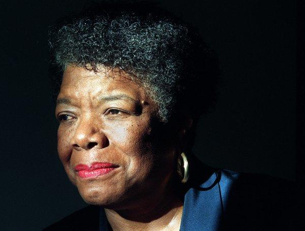 Maya Angelou sits for a photo in Beverly Hills.