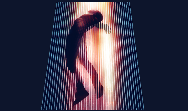 "The tour poster for Kanye West's ""Yeezus"" tour, his first solo outing in five years."
