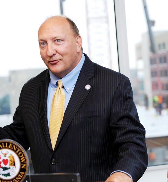 Allentown Mayor Ed Pawlowski has filed the paperwork to create a 'Pawlowski for Governor' political action committee. Pawlowski has not yet publicly declared himself a candidate for governor.
