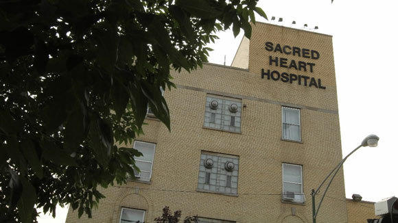 Sacred Heart Hospital on the West Side was closed in July.