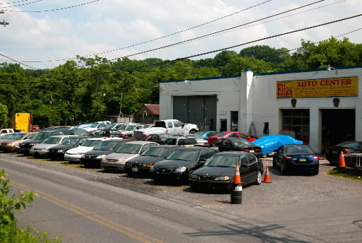 Elias Auto Center at 1275 Bushkill St. was ordered to close for business until more than 180 junk cars are removed from the lot. Owner Elie Sabra was also fined $5,000.