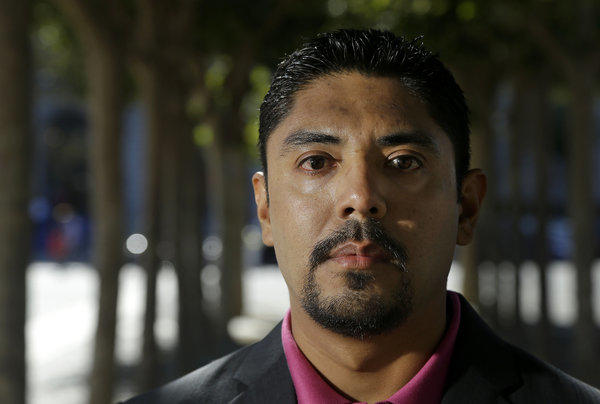 "Sergio Garcia arrived in Northern California illegally 20 years ago and and has been there since. ""There is absolutely no doubt that I will be a practicing attorney in California one day,"" he says."