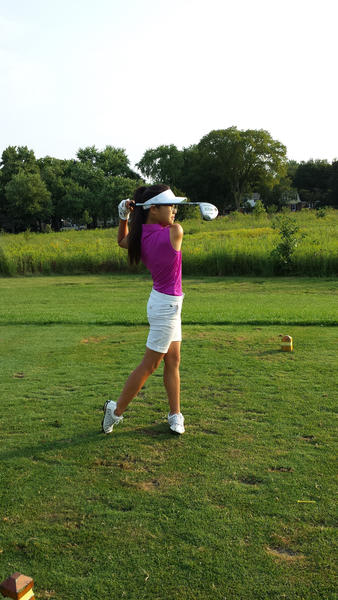Glenbrook North golfer Amy Hong plans to learn from her mistakes to find success this season.