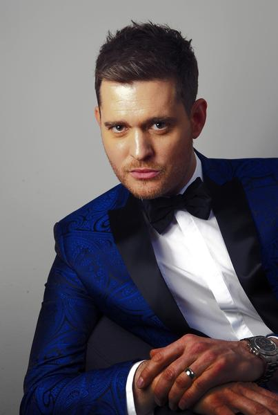 Michael Buble photographed in his dressing room at CBS Studios in Los Angeles.