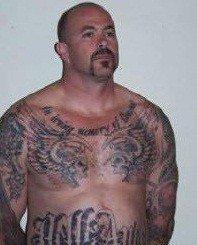 Hells Angels leader Stephen Sanders was sentenced in San Diego Superior Court to 25 years in prison for a variety of felonies.
