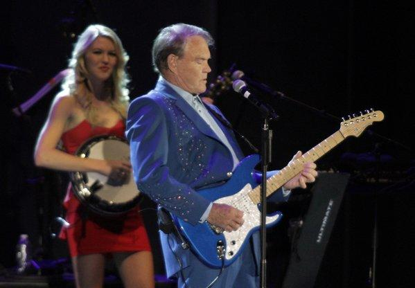 Glen Campbell performed at the Hollywood Bowl last summer.