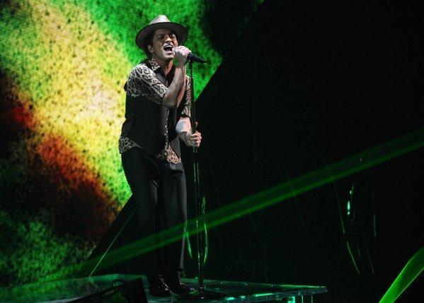 Bruno Mars may be rocking at the Super Bowl next February.