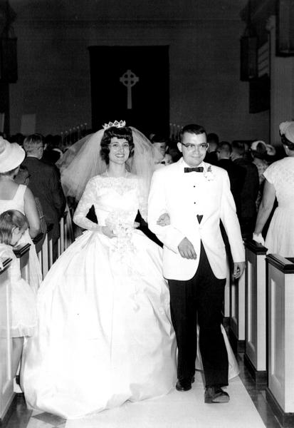 The Perrys were married in 1963.