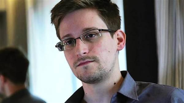 NSA document leaker Edward Snowden.