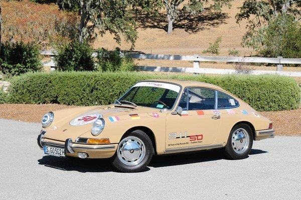 The 911 began selling in the mid-'60s. Meant merely to replace the aging Porsche 356, the 911 quickly became the darling of the sports car set. Above is a 1967 Porsche 911, nearly identical to the original 1965 version.