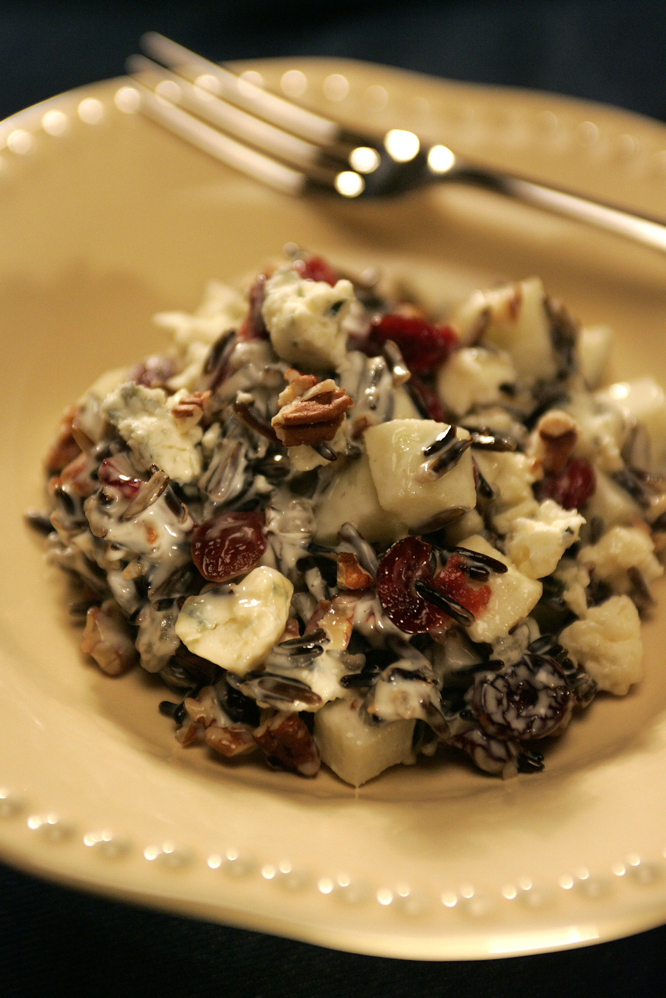 Photos: 97 great Thanksgiving recipes - Apple wild rice salad