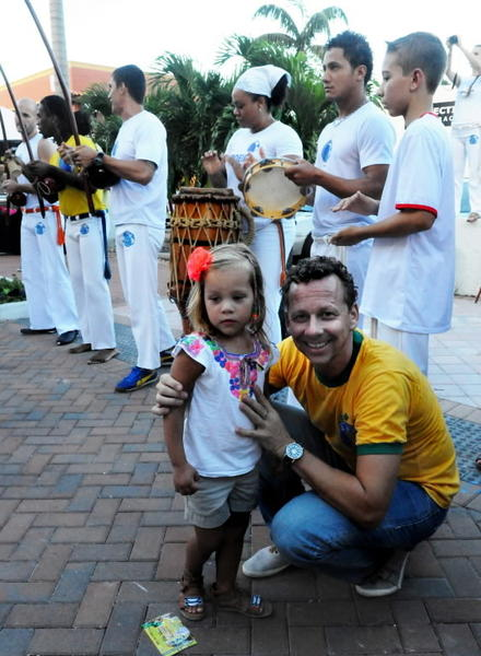 The sights, sounds and tastes of Brazil are going to be all over Boca this month.